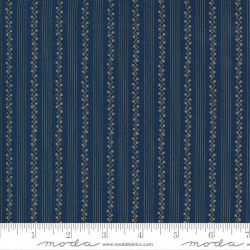 Snowberry Stripe - WINTER BLUE