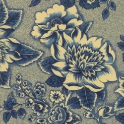 Floral Abundance - INDIGO