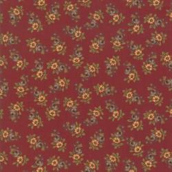Prairie Flowers - BERRY RED