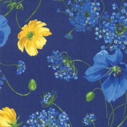 Breezy Blooms - NAVY