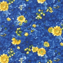 Flower Patch - NAVY