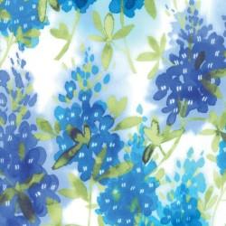 Watercolor Bluebonnets - IVORY