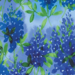Watercolor Bluebonnets - SKY