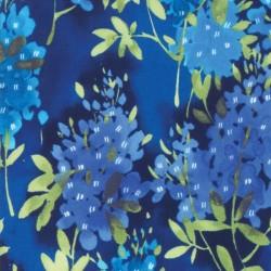 Watercolor Bluebonnets - ROYAL
