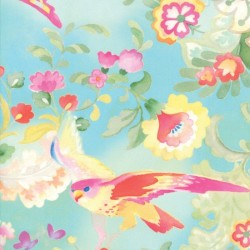 Fluttering Fantasy - TURQUOISE
