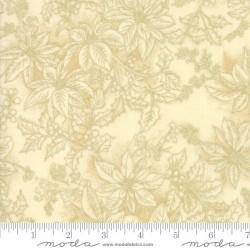 Poinsettia outlines - CREAM