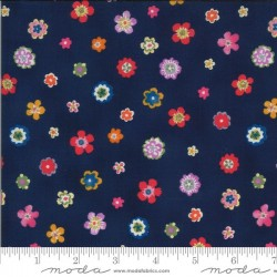 Flowers - NAVY