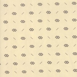 INTERLOCK RECTANGLES - CREAM