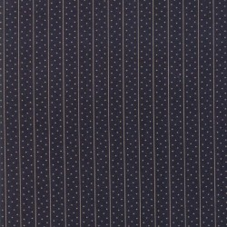 MEANDER DOTS - INDIGO