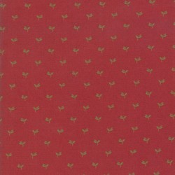 Tri Leaf - TURKEY RED
