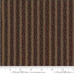 Ombre Stripe - DARK BROWN