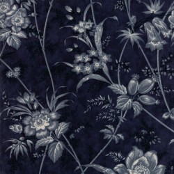 FLORAL TOILE - MIDNIGHT