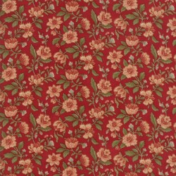 PACKED FLORAL - CHERRY