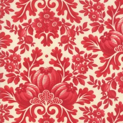 DAMASK - VANILLA/CRANBERRY