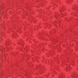 DAMASK - TONAL CRANBERRY