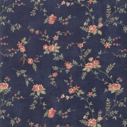 Romantic Blooms - INDIGO