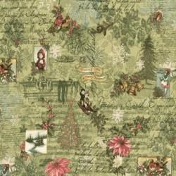 Christmas Collage - MISTLETOE