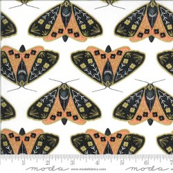 Dainty Moths - IVORY/POPPY