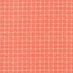STEM PLAID - PEACH