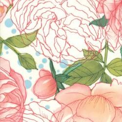 Cabbage Rose - CREAM