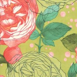 Cabbage Rose - GREENERY