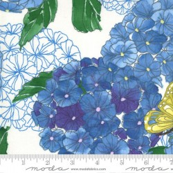 Hydrangeas Floral - CREAM