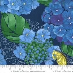 Hydrangeas Floral - MIDNIGHT