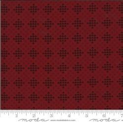 Checker Block - DARK RED