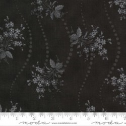 Floral Dot - TRACTOR OIL GREY