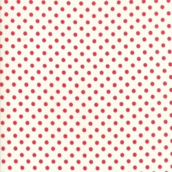 DOT - RED/CREAM
