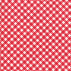 LITTLE BIAS GINGHAM - RED