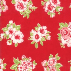 MARMALADE FLORAL - RED