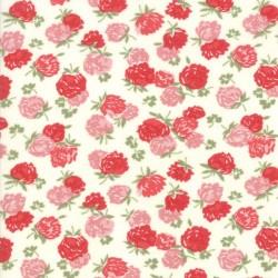 Blossoms - CREAM/RED