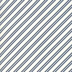 Tie Stripe - CREAM/MIDNIGHT