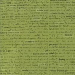 Christmas Letter - GREEN