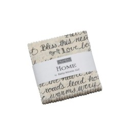 "Home - Mini Charm Packs  (2.5""x2.5""x42)"