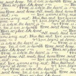 Home Script - Cream