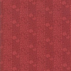 Stripe Twill - CRIMSON