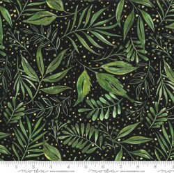 Breezy Botanical - BLACK
