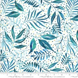Breezy Botanical - TEAL