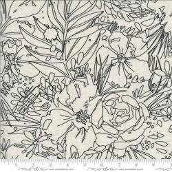 """Her Garden Mochi Linen 45""""- NATURAL"""