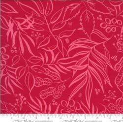 "Leaf it to me Knit Prints 60"" -  FUCHSIA"
