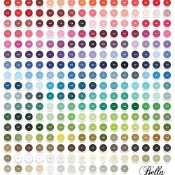 Bella Solids Color Chart - MULTI