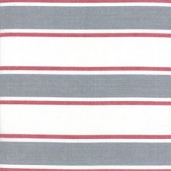 "18"" Cotton Tea Towelling Stripe - ROCKS"