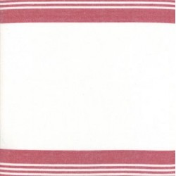 "18"" Cotton Tea Towelling Stripe - ANEMONE"