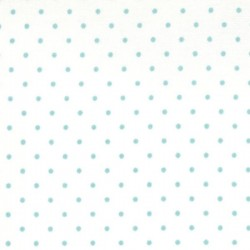 Essential Dots - WHITE TEAL