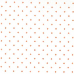 Essential Dots - WHITE/TANGERINE