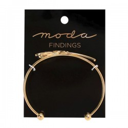 Moda Jewellery - Bangle-Scissor-GOLD