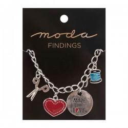 Moda Jewellery - Bracelet-Enamel Charm