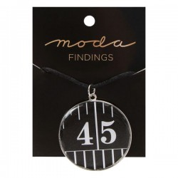 Moda Jewellery - Necklace-TapeMeasure-ROUND